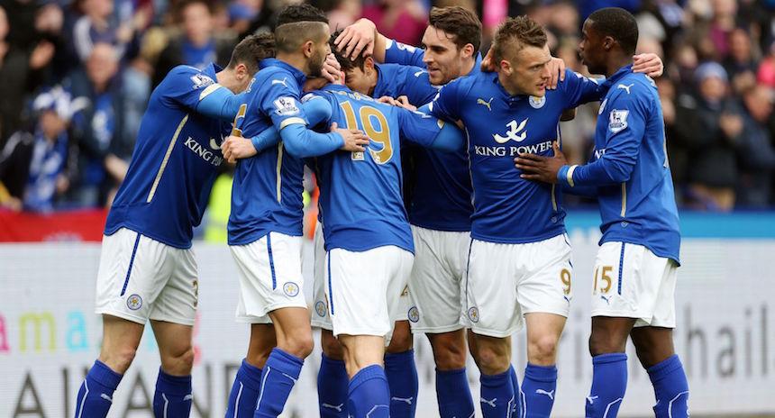 Leicester City, nuevo líder de la Premier League