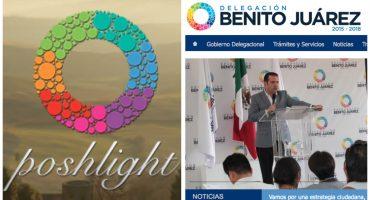 Delegado de Benito Juárez plagió el logo de su administración