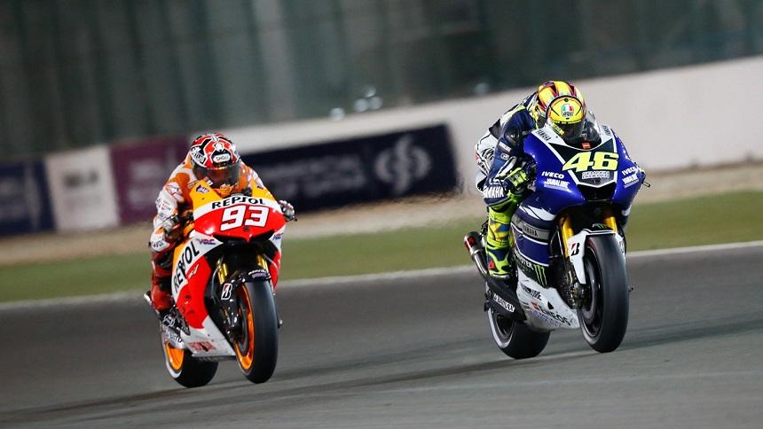 La novela de Rossi y Márquez se acaba en Valencia