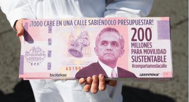 ONGs piden a Mancera más presupuesto para ciclistas