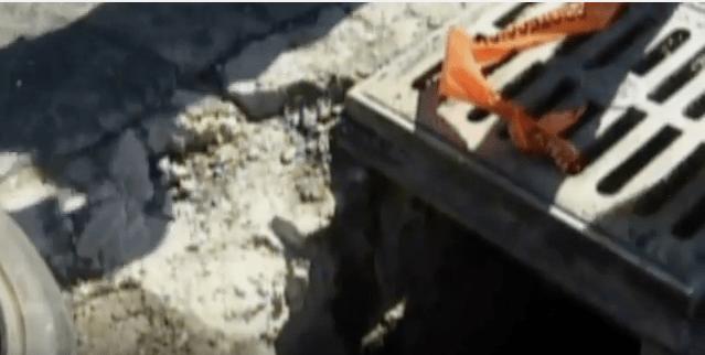 Fallece un bebé por caer en una coladera en Iztacalco