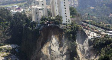 Vecinos denuncian que los derrumbes en Santa Fe se deben a corrupción en permisos