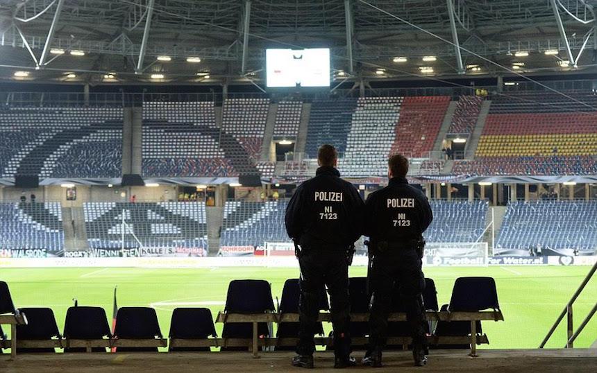 Pudieron explotar cinco bombas en el Alemania vs Holanda