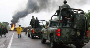 CNDH acusa a la policía en Apatzingán por uso excesivo de fuerza