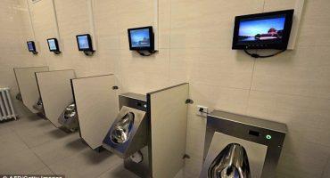 Vean los nuevos baños públicos de China y mueran de la envidia