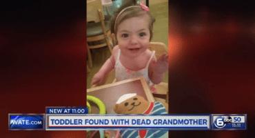 Esta bebé sobrevivió varios días sola después de la muerte de su abuela