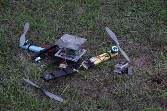 El épico video de un Drone siendo destruido por una calabaza