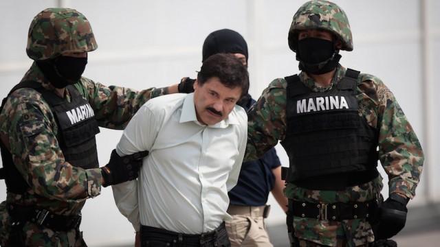 Detienen al Chapo Guzman
