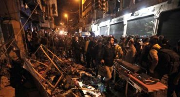 Dos atentados suicidas en un barrio chií de Beirut