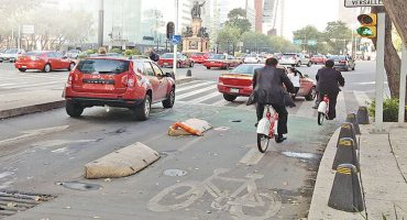 Las vialidades del DF más peligrosas para los ciclistas