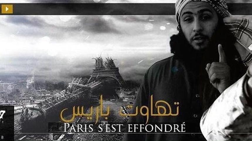 Daesh publica un nuevo vídeo con la imagen de la Torre Eiffel destruida