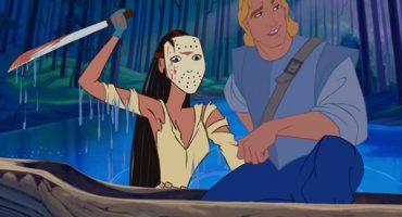 Así se ven las princesas de Disney como personajes de películas de terror