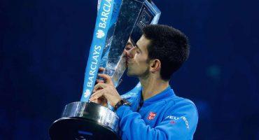 Djokovic gana el Masters y es líder del ránking de la ATP