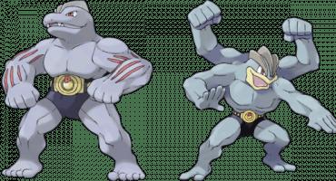Los Pokémon Machoke y Machamp tienen un secreto NSFW... o algo así