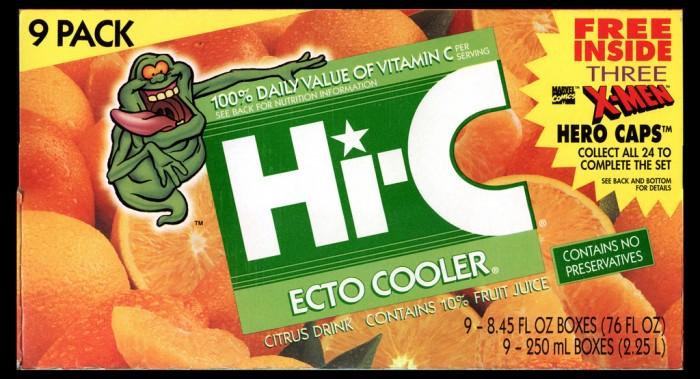 El HI-C: Ecto Cooler podría regresar para la nueva película de los Cazafantasmas