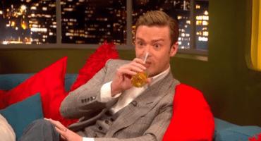 Un Justin Timberlake tomado regaña a los paparazzis