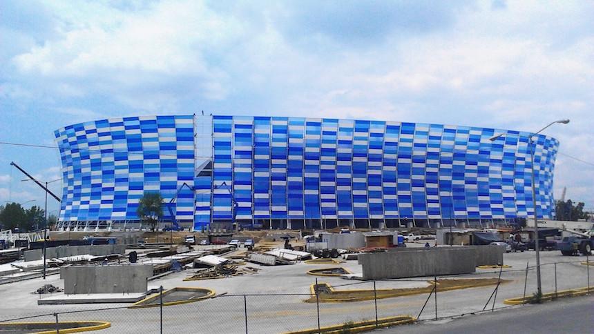 Puebla abre las puertas de su nuevo estadio