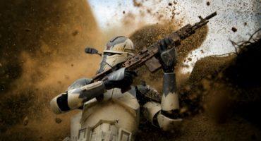 Galactic Warfighters: Fotos que reflejan la guerra con figuras de Star Wars