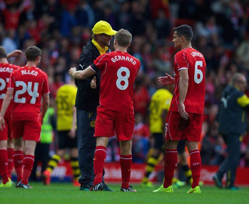 Jürgen Klopp quiere que Steven Gerrard regrese al Liverpool