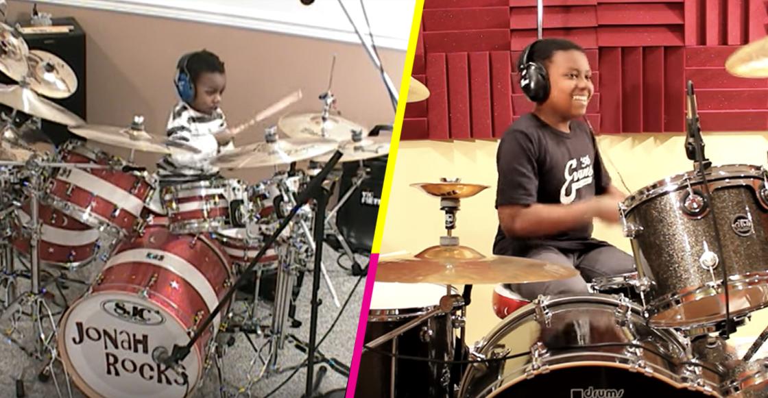 Jonah Rocks en la batería