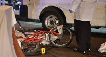 Revelan video del atropellamiento de una ciclista en Reforma