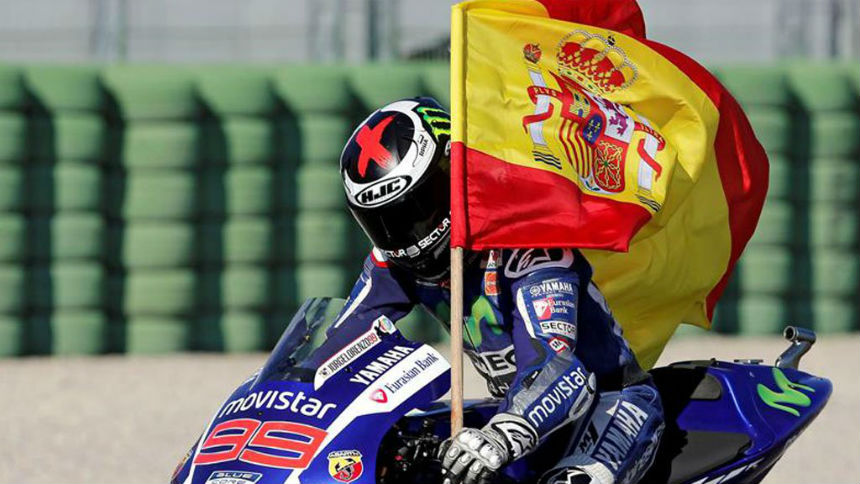 Jorge Lorenzo se lleva el campeonato del Moto GP