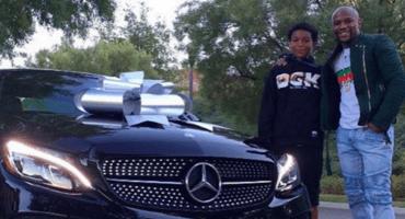 Floyd Mayweather regaló a su hijo un Mercedes de 40 mil euros