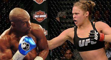 Mayweather le ofrece ayuda a Ronda Rousey para boxear