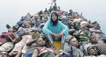 M.I.A. viaja con los refugiados en su nuevo video
