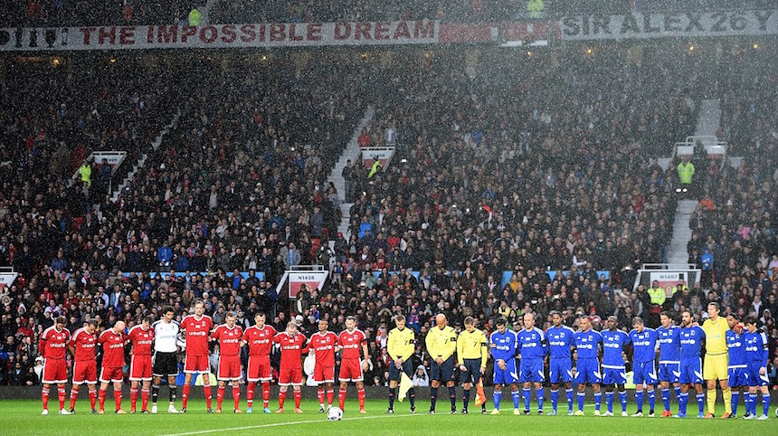 Así se vivió el partido benéfico de David Beckham en Old Trafford