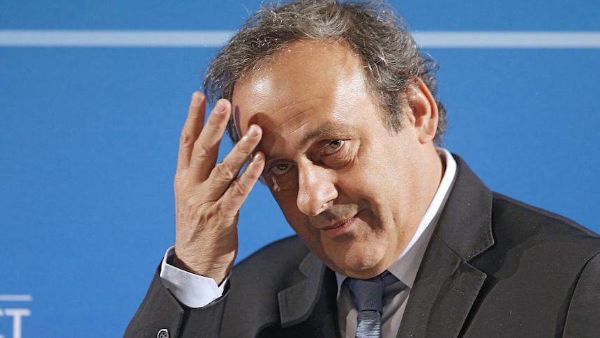 La FIFA quiere a Michel Platini fuera de por vida