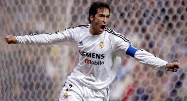 Futbolistas del Real Madrid le dan el adiós a Raúl
