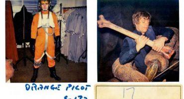Surgen polaroids perdidas de la filmación de Return of the Jedi