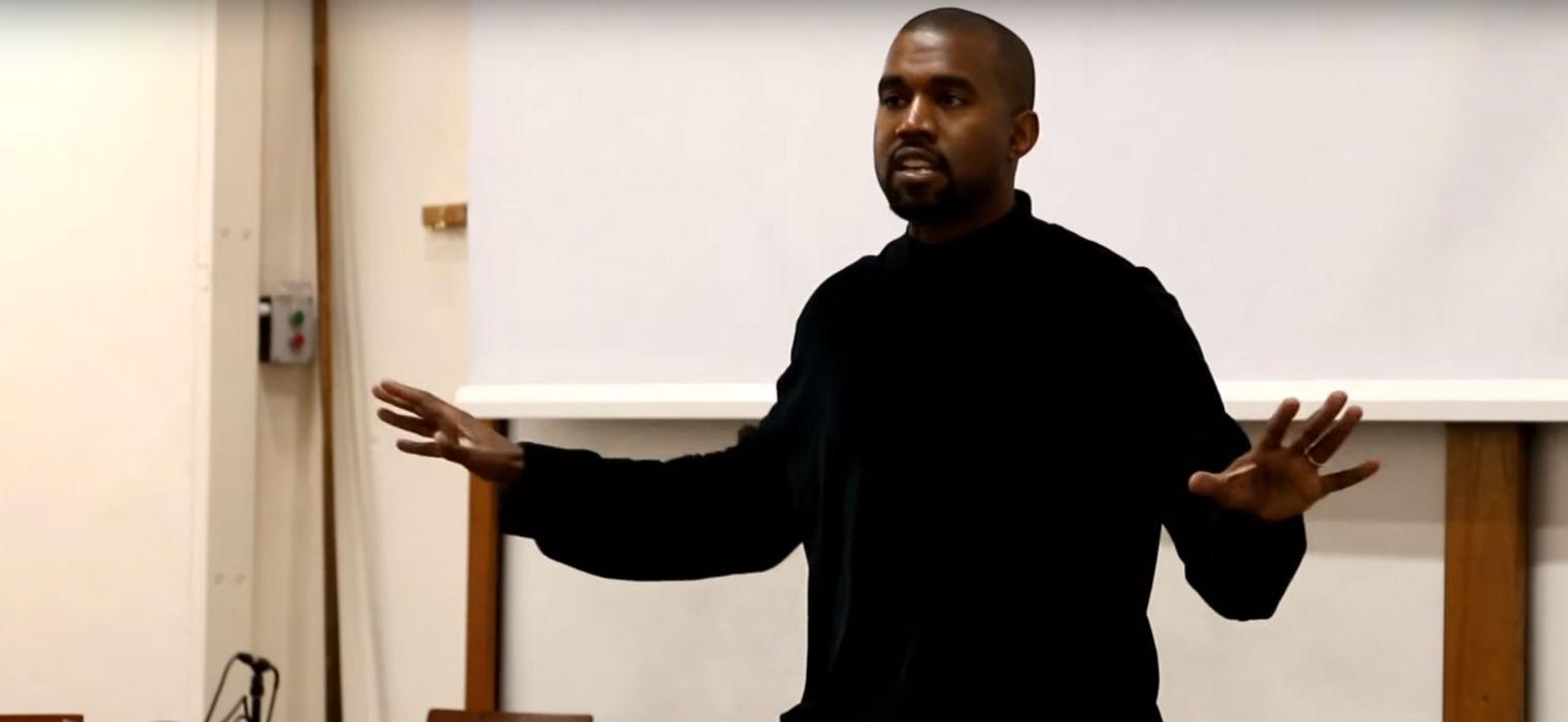 Ve la conferencia que Kanye West dio en la Universidad de Oxford