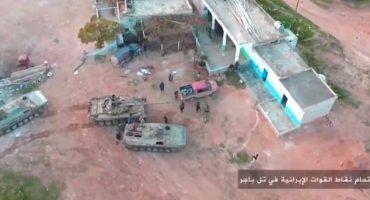 Yihadistas graban ataque a Iraníes con una go-pro y un drone