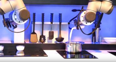Robot que te hace de comer y lava los platos es el mejor invento de la historia