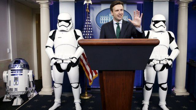 Star Wars llega a la Casa Blanca con todo y Stormtroopers