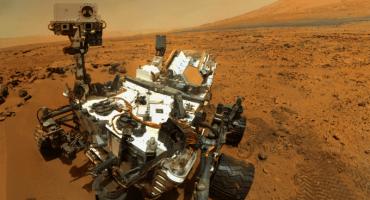 El rover Curiosity manda selfie desde Marte