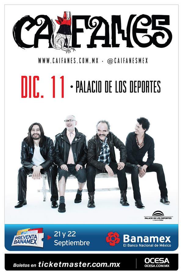 Sopitas.com te lleva al concierto de Caifanes en el Palacio
