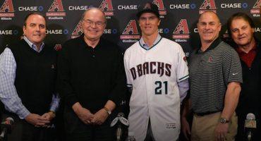 Zack Greinke firma contrato millonario con los Arizona Diamondbacks