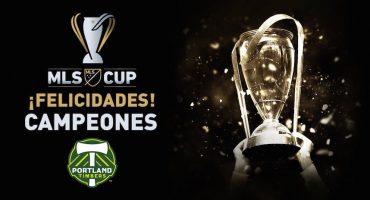 Portland Timbers se corona en la MLS