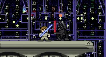 La trilogía original de Star Wars en 8-bit