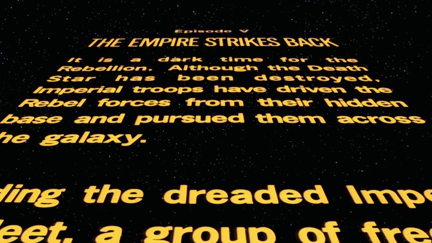 Star Wars Crawl introduction - Sopitas comSopitas com