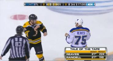 Cuando dos jugadores de hockey se pelean ¿qué hace el comentarista? Cantar Merry Christmas