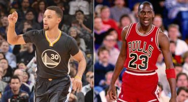 Stephen Curry busca superar a Michael Jordan