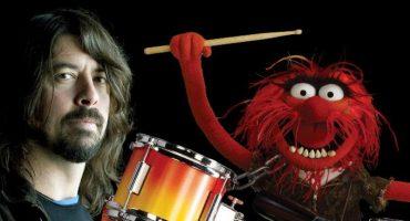Batalla del siglo: Dave Grohl y Animal en un duelo de batería