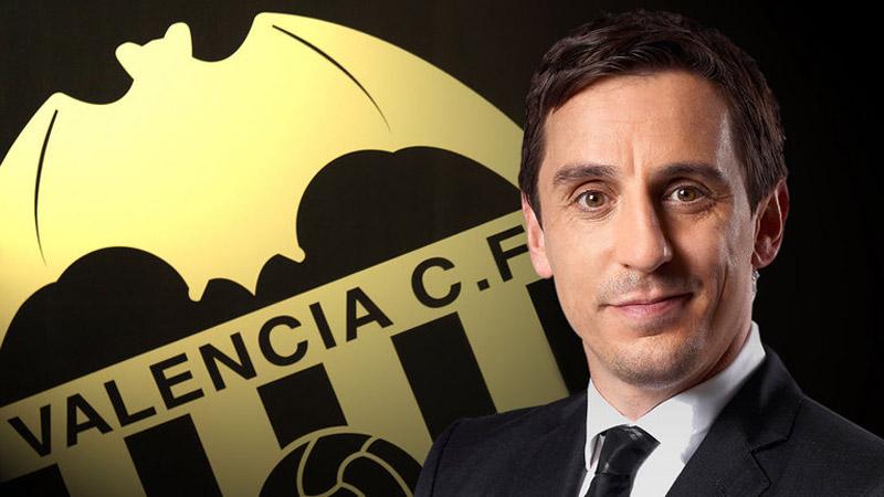 Gary Neville es el nuevo técnico del Valencia