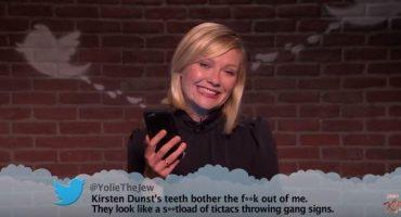 Vean a Daniel Radcliffe, Kirsten Dunst, Sean Penn y más, leyendo tweets ofensivos