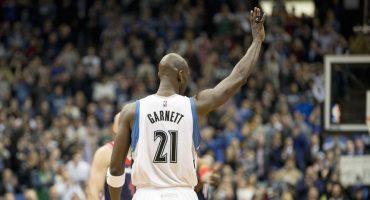 Kevin Garnett es el máximo reboteador defensivo en la historia de la NBA