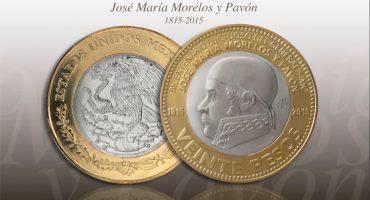 Asi es la nueva moneda de 20 pesos con José María Morelos y Pavón